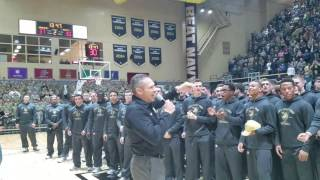 Army Football Team Presents Trophies at West Point