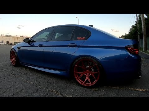 BMW F10 M5 - Twin Turbo Sound With Full Meisterschaft Exhaust