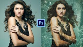 Эффект Старой Фотографии в Фотошопе | Урок #18