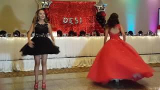 Desi's Quinceañera dance with her siblings