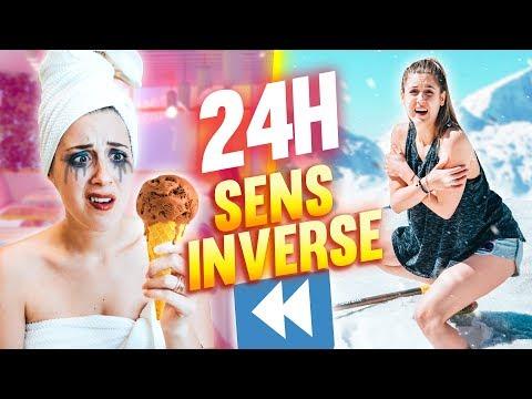 VIVRE PENDANT 24H EN SENS INVERSE - 24H CHALLENGE   DENYZEE
