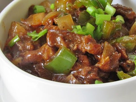 Chilli Beef Recipe – How To Make Restaurant Style Chilli Beef | Nisa Homey