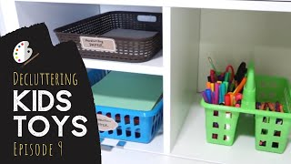 Organizing & Decluttering Kids Art Supplies (Simplify Toys Series Ep. 9)