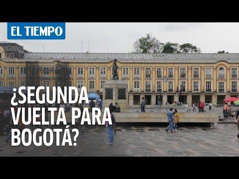 ¿Debe haber segunda vuelta para elegir alcalde de Bogotá? | EL TIEMPO