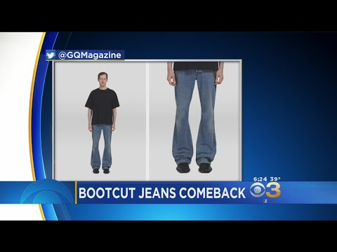 Social Media Reacts To Comeback Of Bootcut Jeans