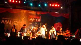 Maliq & D'Essentials - Someday (John Legend cover) + Dia (live in Taman Budaya Yogyakarta, May 20)