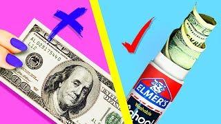 22 тайника для денег дома! Лайфхаки, как спрятать деньги