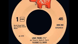Yvonne Elliman ~ Love Pains 1979 Disco Purrfection Version