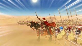 Iskandar  - (Fate/Grand Order) - Fate/Grand Order- Iskandar VS Darius III Accel Zero Boss