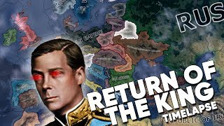 Hearts of Iron IV Timelapse - Kaiserreich - Return of the King!