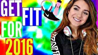 FITNESS ROUTINE | Achieve your FITNESS GOALS IN 2016| Lose weight FAST+ QUICK!!