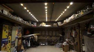 Светодиодное освещение в гараже (Led технологии)