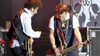 The Hollywood Vampires - Stop Messin' Around (Live) @ Hessentags-Arena Herborn 29.05.16