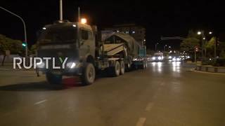 Turkey: Military convoy heads towards border with Syria's Idlib Governorate - reports