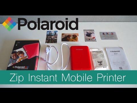 REVIEW ~  Polaroid Zip Instant Mobile Printer