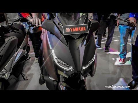 Peluncuran Yamaha X-Max 250 Indonesia (IMOS 2016)