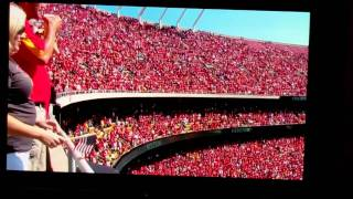 9-11-11 Arrowhead Stadium National Anthem/ David Cook