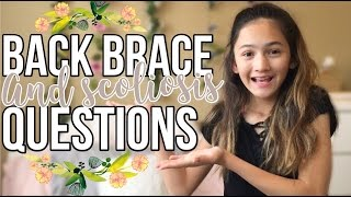 Back Brace/Scoliosis Q&A | Malia Jade
