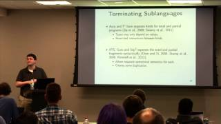 Chris Casinghino - Making Dependent Types Practical