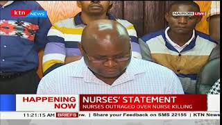 Nurses outraged over nurse killing by patient