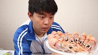 """试吃500一公斤的新西兰""""深海鳌虾"""",刺身中的极品真的好吃吗"""
