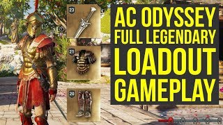 Assassin's Creed Odyssey Gameplay LEGENDARY SWORD, Different Arrows & More (AC Odyssey Gameplay)