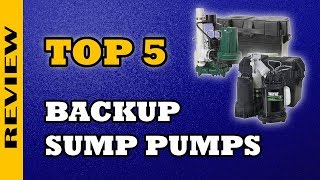 ✅ Best Battery Backup Sump Pump 2019 Review  ★★★★