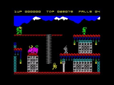 Bruce Lee RX Walkthrough, ZX Spectrum