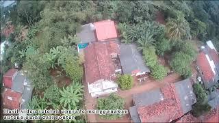Hasil video setelah upgrade antena FPV menggunakan antena omni
