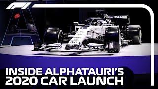 Inside AlphaTauri's 2020 F1 Car Launch