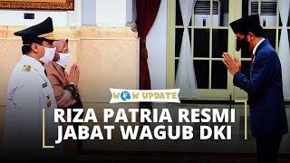 Riza Patria Resmi Menjabat Wagub DKI Jakarta, Pelantikan Digelar Sesuai Protokol Covid-19
