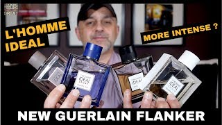 Guerlain L'Homme Idéal L'Intense Announced + Guerlain L'Homme Ideal, Cologne, EDP + Sport Preview