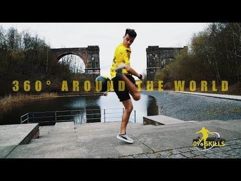 "BVB-Freestyle-Tutorial   360° AROUND THE WORLD   ""09 Skills"" with German Champion Marcel Gurk"