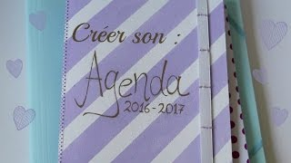 Diy n°1: créer un agenda
