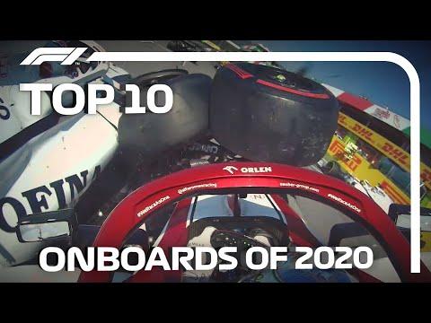 F1 2020年シーズンのオンボード映像の中から選んだトップ10動画