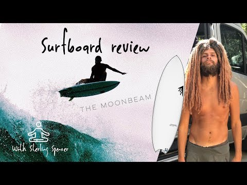 "Surfboard Review with Sterling Spencer \ Firewire Surfboards ""Moonbeam"" Rob Machado"