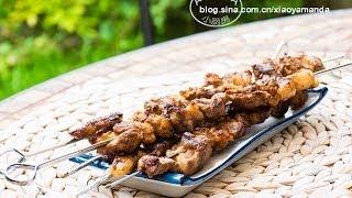 [Eng Sub]羊肉串 Chinese Lamb Skewers BBQ Recipe