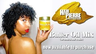 How I use my HAIR GROWTH BUTTER on my Natural Hair
