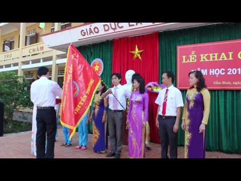 Video Tiểu học Cẩm Bình: Lễ khai giảng năm học mới 2015-2016