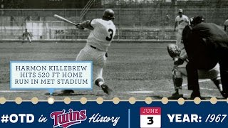 June 3, 1967, Killebrew Hits A 520-foot Homer