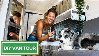 BEAUTIFUL Rustic DIY Sprinter Conversion   Van Life Pinterest Dream   VAN TOUR