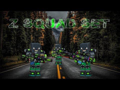 Z-Squad Set - Pixel Gun 3D