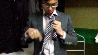 ネクタイ 結び方■モテない結び方 - YouTube