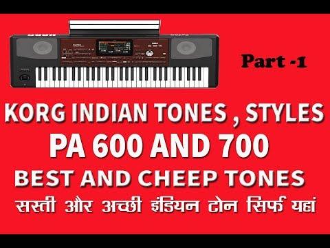 Korg Pa600 Indian Tones 2019 - Mohan Music Mania - Video