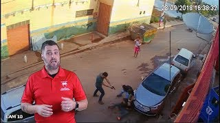 Dude In Brazil Reaches To Take Phone and Tool