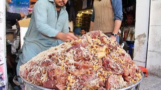 STREET FOOD IN  PESHAWAR PAKISTAN