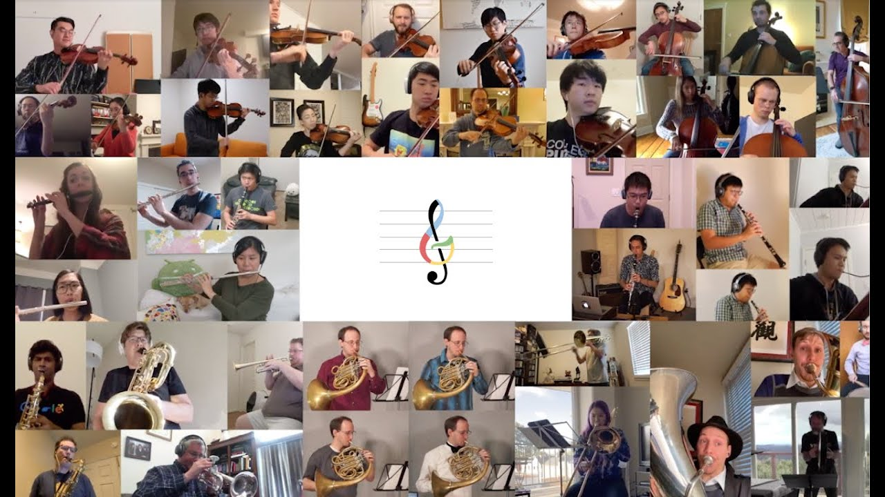 The Googler Virtual Orchestra