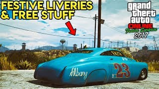 GTA Online: FREE CHRISTMAS GIFTS + NEW FESTIVE LIVERIES FOR TONS OF VEHICLES!