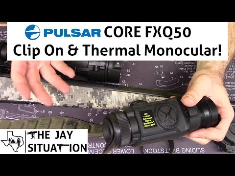 Pulsar CORE FXQ50 Thermal Clip On and Spotting Monocular Review!