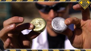 Mixing Molten Aluminum With Molten Brass - Video Youtube